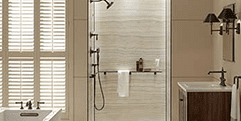 Kohler Walk-In Shower and Bath