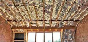 attic insulation and energy barrier