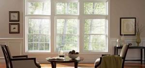 a set of vinyl windows